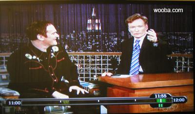 Conan O'Brien Flipping the Bird