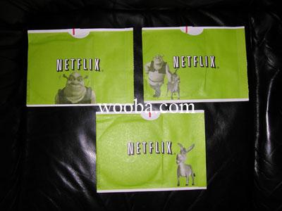Netflix Shrek 2 Green Envelope Back