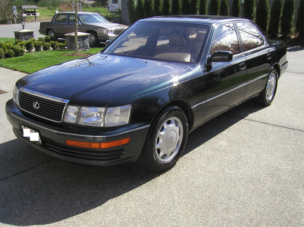 1993 Lexus LS400 - Black Jade Green - Mint Condition